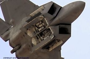 USAF F-22A Raptor Weapons Bay