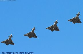 RAF Eurofighter Typhoon FGR4 Fighters