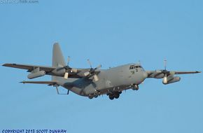 USAF EC-130H Compass Call Electronic Warfare Aircraft