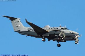 USAF MC-12 Liberty Intelligence, Surveillance and Reconnaissance Aircraft