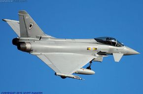 RAF Eurofighter Typhoon FGR4 Fighter
