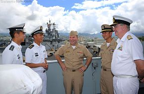 RIMPAC 2014 Visit to PLAN