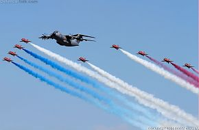 RAF Red Arrows & Airbus A400M Atlas
