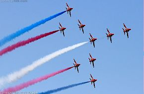 RAF Red Arrows Hawk T1