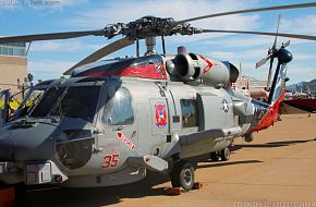 US Navy MH-60R Sea Hawk ASW Helicopter