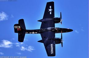 USMC F7F Tigercat Fighter