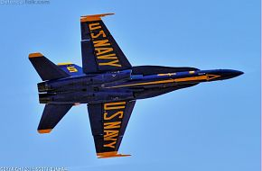 US Navy Blue Angels F/A-18D Hornet Fighter