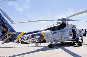 US Navy MH-60R Seahawk ASW Helicopter Tail Art