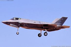 USAF F-35A Lightning II Fighter Aircraft