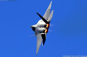 USAF F-22A Raptor Fighter Aircraft