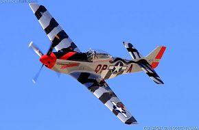 US Army Air Corps P-51 Mustang Fighter Aircraft