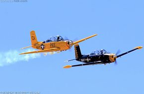 US Navy SNJ Texan Trainer