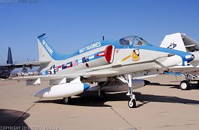 US Navy A-4 Skyhawk Attack Aircraft