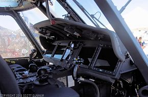 US Navy MH-60R Seahawk ASW Helicopter Cockpit