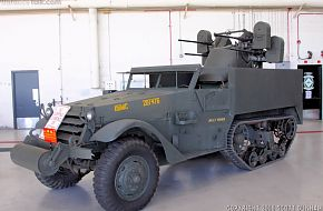 USMC M3 Half-Track with M45 Quadmount Meat Chopper