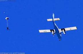 US Air Force Academy Parachute Team