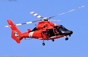 US Coast Guard HH-65 Dolphin SAR Helicopter