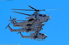 USMC AH-1W Super Cobra & AH-1Z Viper Helicopter Gunships
