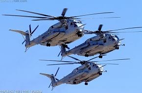 USMC CH-53E Super Stallion Helicopter
