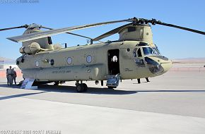 US Army CH-47F Chinook Helicopter