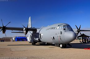USAF C-130 Hercules Transport Aircraft
