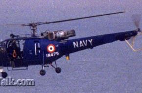 Indian Navy Chetak