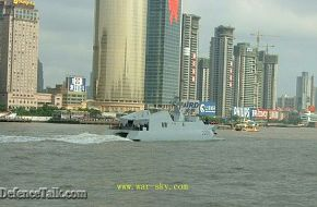 China's missile boat 2208