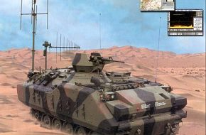 MES-V Electronic Warfare Decoupe Armoured Vehicle