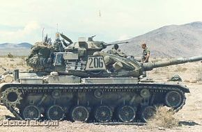 m60_tank1Over 15,000 M60 main battle tanks have been produced for the armie