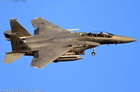 USAF F-15E Strike Eagle Fighter