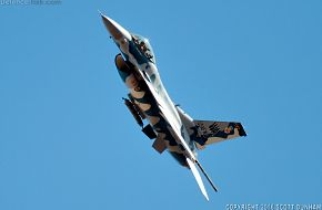 USAF F-16 Viper Aggressor Fighter