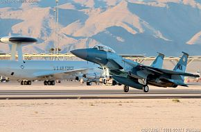USAF F-15C Eagle Aggressor Fighter