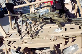 US M249 SAW Machine Gun