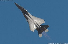 USAF F-15D Eagle Air Superiority Fighter