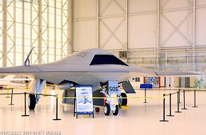 US Navy X-47B Unmanned Combat Air System