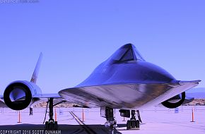 USAF SR-71 Blackbird Strategic Reconnaissance Aircraft