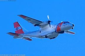 US Coast Guard HC-144A Ocean Sentry Maritime Surveillance Aircraft