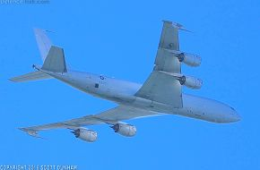 US Navy E-6B Mercury Airborne Command Post