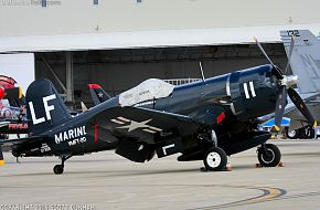 USMC F4U Corsair Fighter