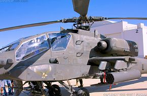 US Army AH-64D Apache Longbow Helicopter Gunship