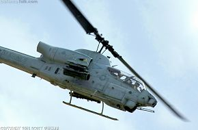 USMC AH-1W Super Cobra Gunship Attack Helicopter