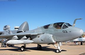 US Navy EA-6B Prowler Electronic Attack Aircraft