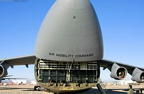 USAF C-5C Galaxy Heavy Transport