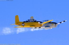 US T-34 Mentor Trainer Aircraft