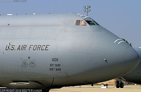 USAF C-5B Galaxy Heavy Transport