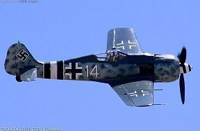 Luftwaffe FW 190 Wurger Fighter Aircraft