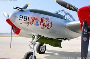 US Army Air Corps P-38 Lightning Fighter