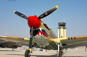 US Army Air Corps P-40 Warhawk Fighter Aircraft