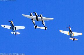 USAAC P-38 Lightning & P-51 Mustang Fighters