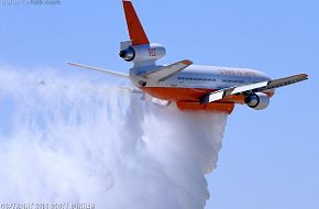 DC-10 Fire Fighting Aircraft